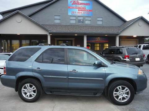 2005 Acura MDX for sale at Talisman Motor Company in Houston TX