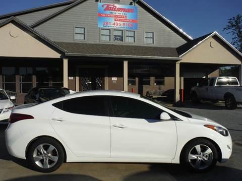 2013 Hyundai Elantra for sale at Talisman Motor Company in Houston TX
