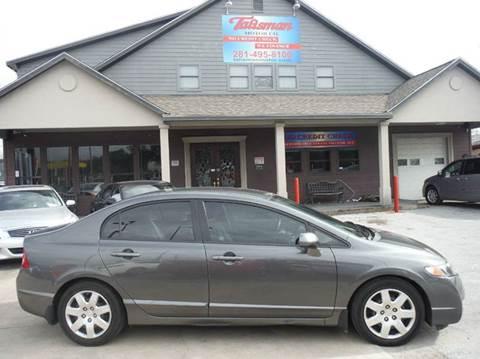 2011 Honda Civic for sale at Talisman Motor Company in Houston TX