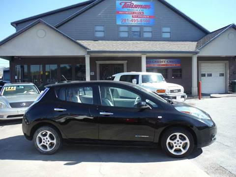 2011 Nissan LEAF for sale at Talisman Motor Company in Houston TX