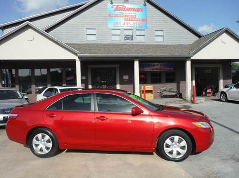 2009 Toyota Camry for sale at Talisman Motor Company in Houston TX