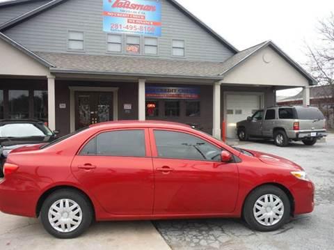 2013 Toyota Corolla for sale at Talisman Motor Company in Houston TX