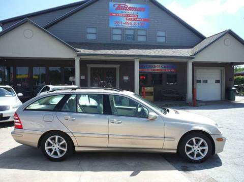 2005 Mercedes-Benz C-Class for sale at Talisman Motor Company in Houston TX