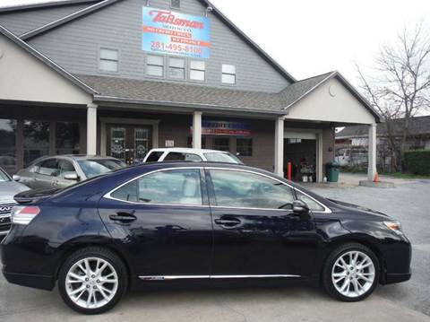 2010 Lexus HS 250h for sale at Talisman Motor Company in Houston TX