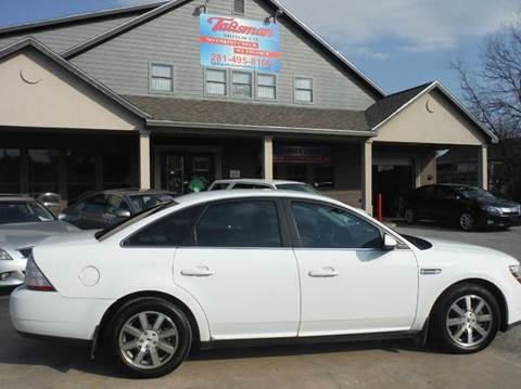 2008 Ford Taurus for sale at Talisman Motor Company in Houston TX