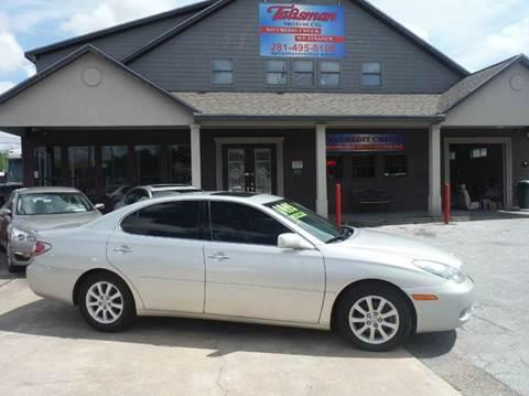 2003 Lexus ES 300 for sale at Talisman Motor Company in Houston TX