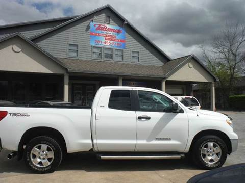2011 Toyota Tundra for sale at Talisman Motor Company in Houston TX