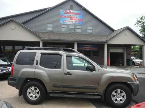 2005 Nissan Xterra for sale at Talisman Motor Company in Houston TX