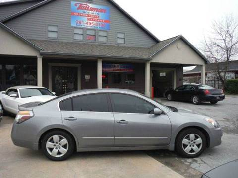 2007 Nissan Altima for sale at Talisman Motor Company in Houston TX
