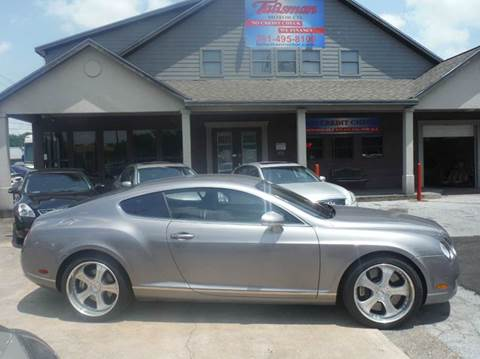2005 Bentley Continental GT for sale at Talisman Motor Company in Houston TX