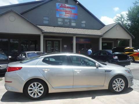 2014 Kia Optima for sale at Talisman Motor Company in Houston TX