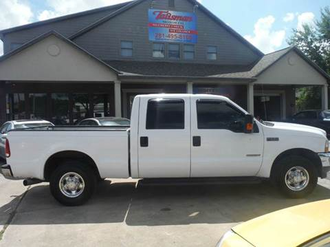 2004 Ford F-250 Super Duty for sale at Talisman Motor Company in Houston TX