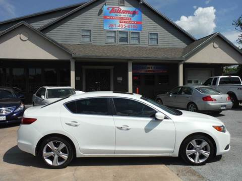 2015 Acura ILX for sale at Talisman Motor Company in Houston TX