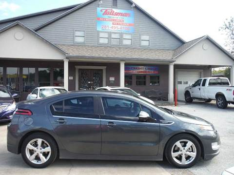 2012 Chevrolet Volt for sale at Talisman Motor Company in Houston TX