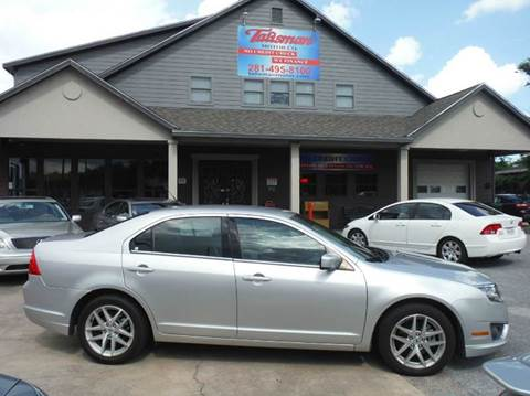 2012 Ford Fusion for sale at Talisman Motor Company in Houston TX