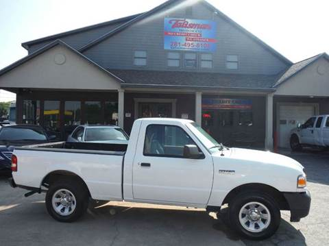 2011 Ford Ranger for sale at Talisman Motor Company in Houston TX