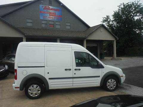 2012 Ford Transit Connect for sale at Talisman Motor Company in Houston TX