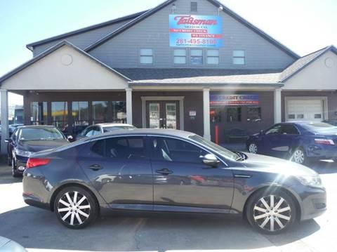 2011 Kia Optima for sale at Talisman Motor Company in Houston TX