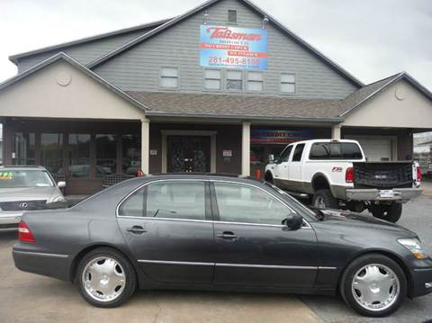 2005 Lexus LS 430 for sale at Talisman Motor Company in Houston TX
