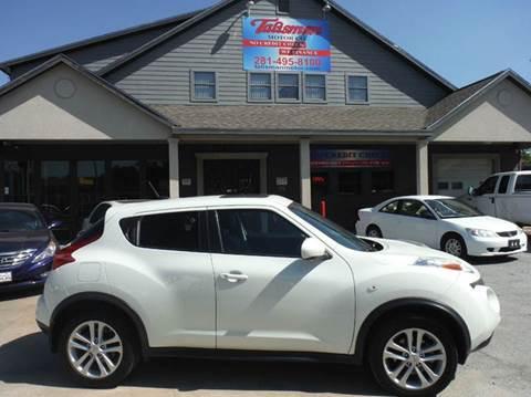 2011 Nissan JUKE for sale at Talisman Motor Company in Houston TX