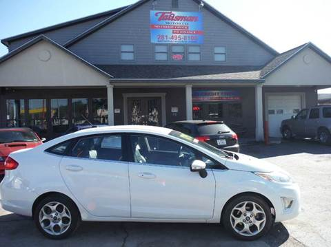 2011 Ford Fiesta for sale at Talisman Motor Company in Houston TX