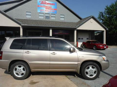 2004 Toyota Highlander for sale at Talisman Motor Company in Houston TX
