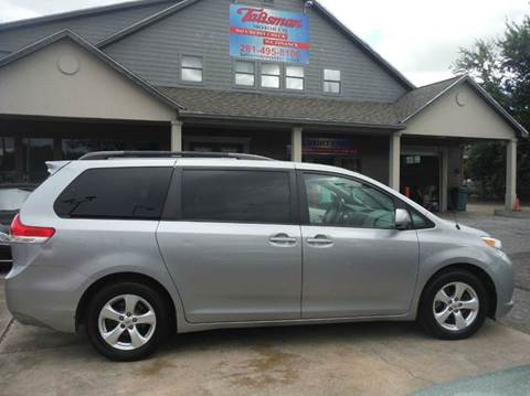 2011 Toyota Sienna for sale at Talisman Motor Company in Houston TX