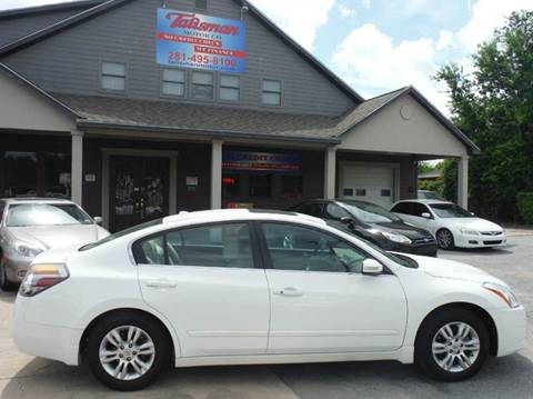 2012 Nissan Altima for sale at Talisman Motor Company in Houston TX