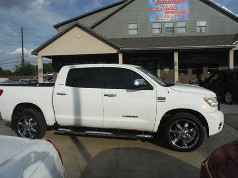 2007 Toyota Tundra for sale at Talisman Motor Company in Houston TX