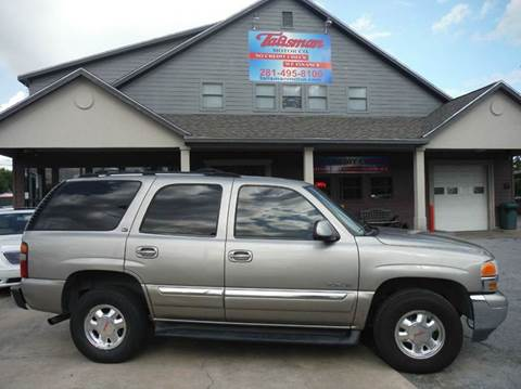 2002 GMC Yukon for sale at Talisman Motor Company in Houston TX