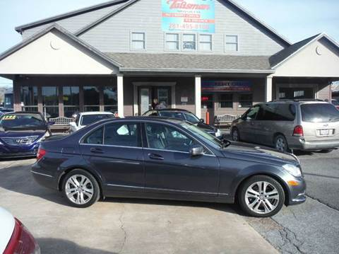 2014 Mercedes-Benz C-Class for sale at Talisman Motor Company in Houston TX