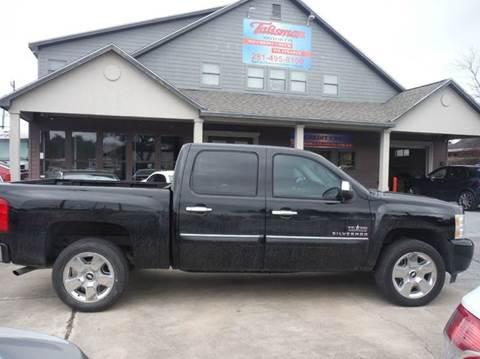 2010 Chevrolet Silverado 1500 for sale at Talisman Motor Company in Houston TX