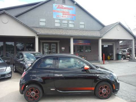 2013 FIAT 500e for sale at Talisman Motor Company in Houston TX