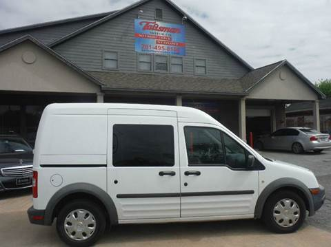 2013 Ford Transit Connect for sale at Talisman Motor Company in Houston TX