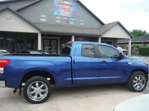 2008 Toyota Tundra for sale at Talisman Motor Company in Houston TX