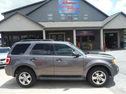 2010 Ford Escape for sale at Talisman Motor Company in Houston TX