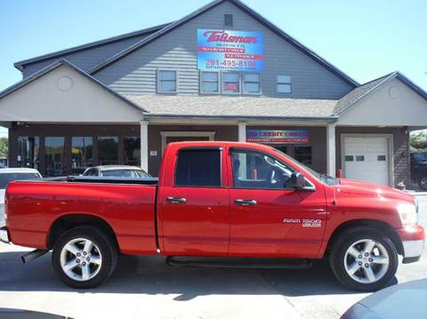 2006 Dodge Ram Pickup 1500 for sale at Talisman Motor Company in Houston TX