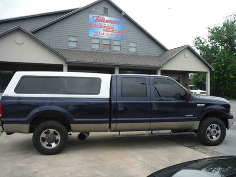 2005 Ford F-250 Super Duty for sale at Talisman Motor Company in Houston TX