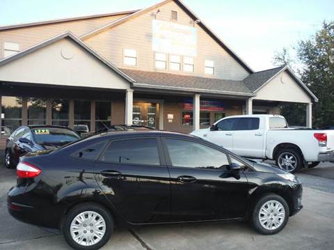 2015 Ford Fiesta for sale at Talisman Motor Company in Houston TX