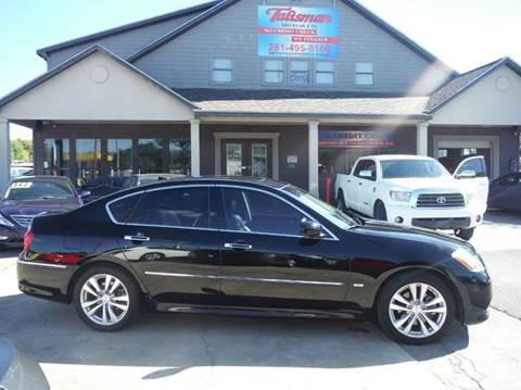 2009 Infiniti M35 for sale at Talisman Motor Company in Houston TX