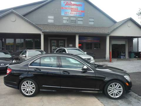 2009 Mercedes-Benz C-Class for sale at Talisman Motor Company in Houston TX