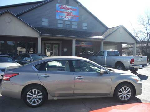 2013 Nissan Altima for sale at Talisman Motor Company in Houston TX