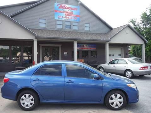 2009 Toyota Corolla for sale at Talisman Motor Company in Houston TX