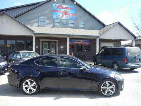 2010 Lexus IS 250 for sale at Talisman Motor Company in Houston TX
