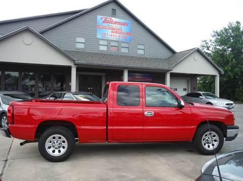 2007 Chevrolet Silverado 1500 Classic for sale at Talisman Motor Company in Houston TX
