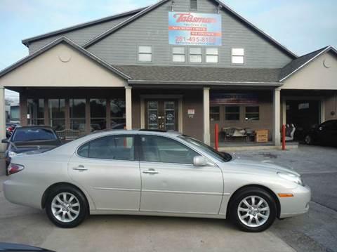 2004 Lexus ES 330 for sale at Talisman Motor Company in Houston TX