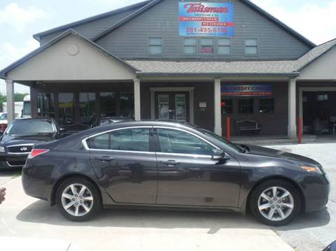 2012 Acura TL for sale at Talisman Motor Company in Houston TX