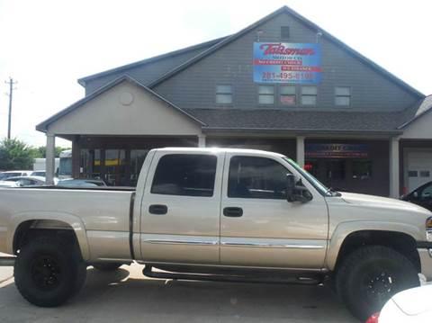 2004 GMC Sierra 2500HD for sale at Talisman Motor Company in Houston TX