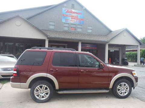 2010 Ford Explorer for sale at Talisman Motor Company in Houston TX