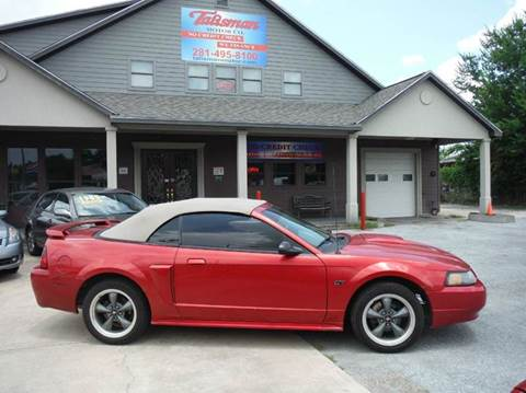 2002 Ford Mustang for sale at Talisman Motor Company in Houston TX